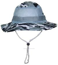 Tropic Hats Adult Camouflage Ripstop Boonie W/Mesh #905 City