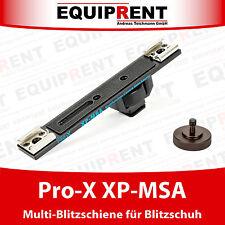 Pro-X XP-MSA Blitzschuh Y-Adapter / Blitzschiene für Zubehör (EQ464)
