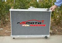 For NISSAN SKYLINE R33 R34 GTR GTS-T GTST RB25DET Aluminum Radiator Manual MT