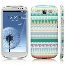 Patterned Aztec Silicone Slim TPU Gel Back Case Cover For Samsung Galaxy S3