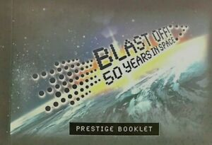 2007 Prestige Stamp Booklet 'Blast Off - 50 Years in Space'  MNH Stamps