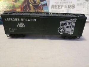 VINTAG RARE  ROLLING ROCK BOX CAR LATROBE BREWING LBA 22004