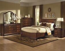 New Classic Furniture Sheridan Queen Sleigh 6 Piece Bedroom Set
