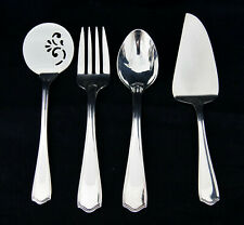 WATERFORD Keswick Silverplate Serving Pieces Pie/Cake Tomato Server Fork Spoon