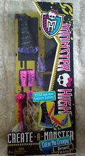 MONSTER HIGH CREATE A MONSTER COLOR ME CREEPY WEREWOLF ADD ON PACK