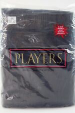 2 Players Big Mens 8X 70-72 Black Gray Knit Boxer Shorts Underwear Tall Cotton