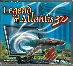 Legend Of Atlantis 3D Pc New XP Vista Explore Ancient Ruins Sharks Coliseum Crab