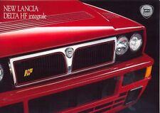 Lancia Delta HF integrale Evo UK market 1992 original full colour sales brochure
