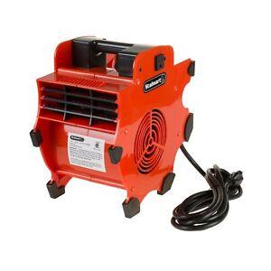 Portable Adjustable Industrial Fan Blower- 3 Speed Heavy Duty Mechanics Floor...
