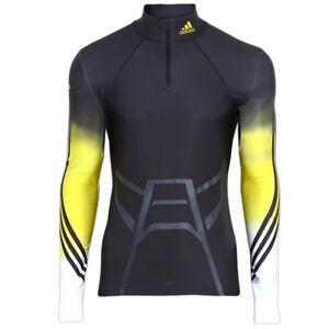 adidas Herren Powerweb Biathlon Race Top Langarm Langlauf Shirt Wintersport