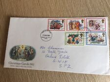 """Post Office First Day Cover """"Christmas Carols 1982"""""""