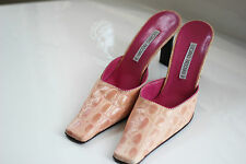 Luciano Padovan -  Salmon Pink / Pink High Heeled Shoes - Size 39 /UK 6 - Used