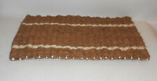 Vintage Doormat Coconut Matting Alternative Doormats 56 x 32 cm GDR Look NOS