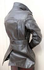 Reed Sportswear Men's Vintage brown Leather Jacket Coat 1970s Sz 42