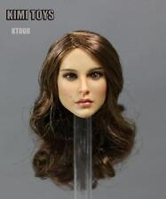 KIMI TOYS KT008 1/6 Long Hair Girl Head Sculpt For Female Phicen Body Figure Toy