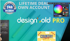 DesignBold Pro Lifetime Deal Logo Design - Flyers - Website Banner - FB Covers