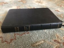 1963 Cambridge Concord Holy Bible KJV, Red Letter Black Morocco, Excellent