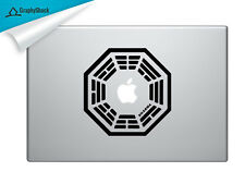 Dharma Corporation Mac Decal Laptop Sticker Mac Decals for 13 15 17 inch Macs