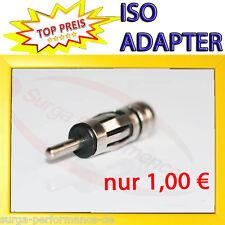 AUTORADIO ANTENNENADAPTER RADIO ADAPTER ISO > DIN NEU AUF ALT STECKER 150 > 50