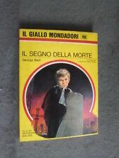GIALLO MONDADORI #1103 - GEORGE BAXT - IL SEGNO DELLA MORTE - BUONO