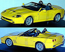 FERRARI 550 BARCHETTA 1996-2001 GIALLO 1:18 HotWheels