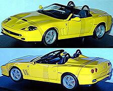Ferrari 550 Barchetta 1996-2001 gelb yellow 1:18 HotWheels