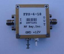 Frequency Divider 0.2-18GHz Div 4, FPS-4-18, New, SMA