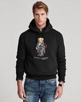 $168 NWT POLO RALPH LAUREN Men's XL Duffel Bear 2020 Holiday Sweatshirt Hoodie