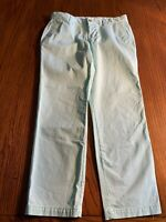 Womens Gap Capri Pants Size 6 Girlfriend Khaki Seafoam Green