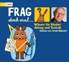 BERND FLESSNER - FRAG DOCH MAL DIE MAUS! ALLTAG UND TECHNIK - ARMIN M.   CD NEU