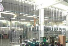 Tende a bande in pvc trasparente su misura porte a strisce industriali divisorio