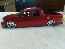 2003 Ford F-150 Red Jada Dub City 1:24 Scale Diecast