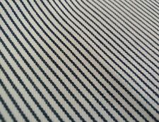 "RALPH LAUREN Fabric Remnant - LITTLE CAPE TICKING STRIPE - 27"" x26"" - INDIA $124"