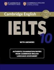 CAMBRIDGE ENGLISH IELTS 10 WITH ANSWERS - CAMBRIDGE UNIVERSITY PR (COR) - NEW BO