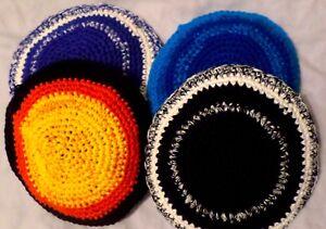 Variegated/Speckled Kippah/Yarmulke/cap: 14 cm (choose one)