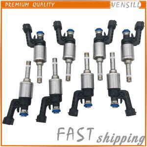 8Pcs Fuel Injectors 16600-1LA0A For Infiniti Q70 QX80 QX56 M56 2011-2013 5.6L V8