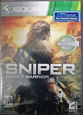 SNIPER GHOST WARRIOR VIDEO GAME XBOX 360 WALMART RECONDITIONED 2010 FREE SHIP