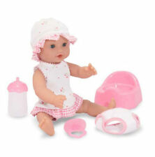 """Melissa and Doug  MINE TO LOVE - ANNIE 12"""" DRINK AND & WET DOLL"""