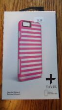 Tavik Hollow Pink Striped Protective Case for iPhone 6