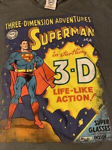 Superman 3-D Tshirt