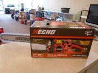"""ECHO 20"""" CHAINSAW, CS-490,NIB"""