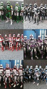 Star Wars The Black Series 6 Inch Clone Trooper Custom Figure Single Commission