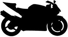 "HONDA CBR954RR MOTORCYCLE Vinyl Decal Sticker-6"" Wide White Color"