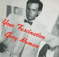"GARY NUMAN Your Fascination 12"" Single Vinyl Record Numa 1985 EX"