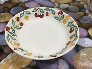 Emma Bridgewater Summer Cherries Pasta Bowl Dish New Best Discontinued