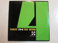"PIONEER CD-4 TEST RECORD PQX-1011 7"" JAPAN PROMO QUADROPHONIC STEREO - VERY RARE"
