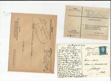Europa Union / Niederlande / 1947-50 Nederland werkt, 6 AK, Karten + Briefe