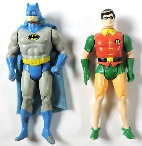 S834. SUPER POWERS COLLECTION Batman & Robin AF w/ Martian Manhunter Cape (1984)
