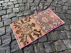 Carpet, Doormats, Small rug, Vintage handmade rug, Wool rug | 1,2 x 2,0 ft
