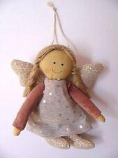 Engel ❤ L= 15 cm ❤ Stoff Schutzengel Weihnachten Kommunion Taufe Geburt Deko